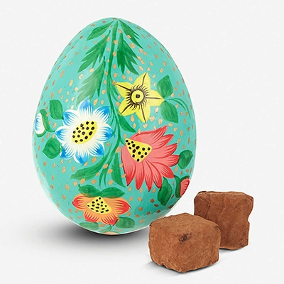 Plastic Free Easter Eggs Booja Booja Almond Sea Salt Caramel Truffles Easter Egg