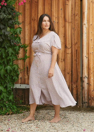 Size Inclusive Brands With The Planet In Mind Christy Dawn Extended Sizing Dress