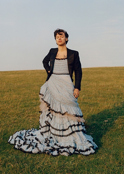 How To #DeGender Fashion Harry Styles Vogue Cover