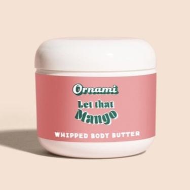 Nourishing Shea Butters Ornami Let That Mango Whipped Body Butter