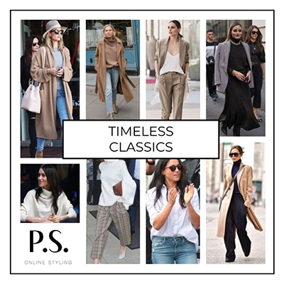 Buy Less Buy Better How To Shop More Consciously P.S. Online Styling Board Timeless Classics
