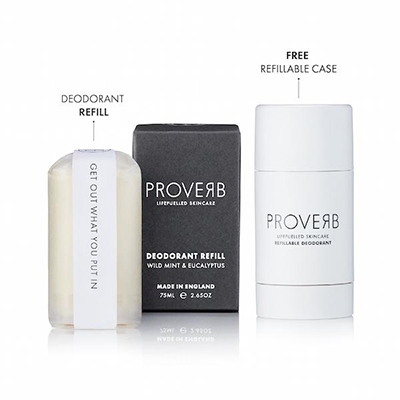 The Start Ups Perfecting Refillable Deodorants Proverb