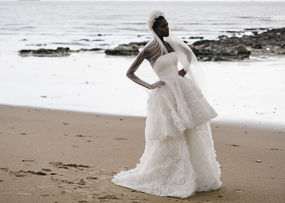 10 Questions for Kate Halfpenny Sustainable Wedding Dress Unveiled Archive fabric veil
