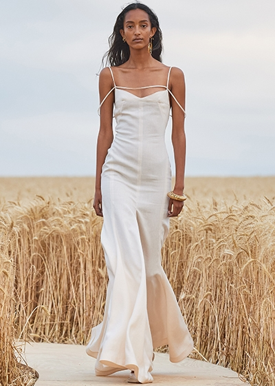 A Guide To Linen - Summer's Most Popular Fabric Jacquemus linen dress