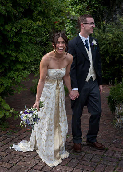 Something Green 10 Tips for planning A Sustainable Wedding The Sustainable Bride Repurposed Sari Dress