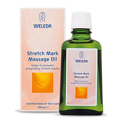 Natural Pregnancy Skincare For Expectant Mums Weleda Stretch Mark Massage Oil