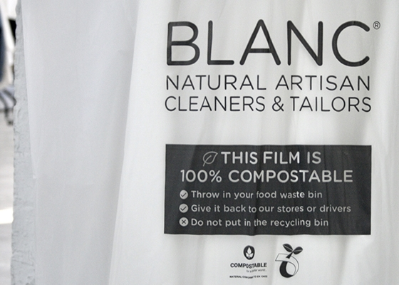 10 Questions for Ludovic Blanc Founder of Blanc New Compostable Dry Cleaning Garment Covers