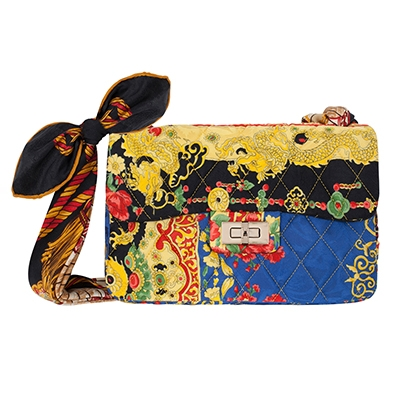 June 2021 Newsletter RIANNA + NINA vintage scarf Bon Bon Bag