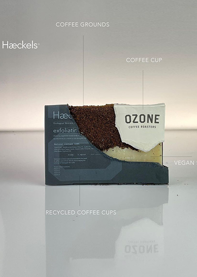 Seaweed Skincare - The Sustainably Sourced Wonder Ingredient Haeckels Exfoliating coffee ground bar