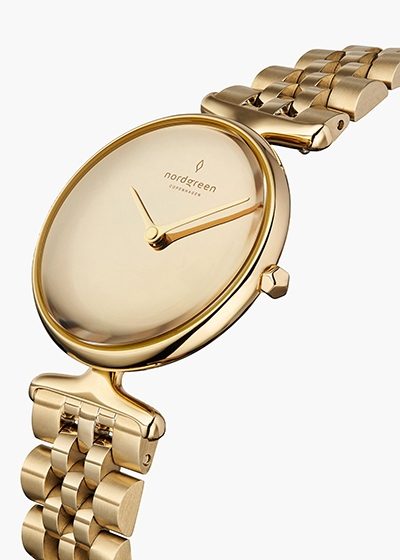Eco Friendly Watches To Love Nordgreen Gold Watch