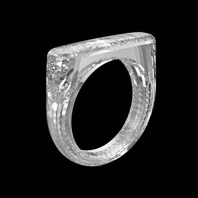 Laboratory Grown vs Natural Diamonds - Which Is More Ethical - All Diamond (RED) ring by Marc Newson, Sir Jony Ive and Diamond Foundry