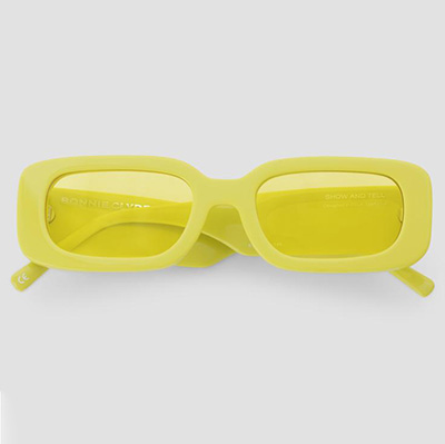 Bonnie and Clyde Yellow Colourful Sunglasses For Summer