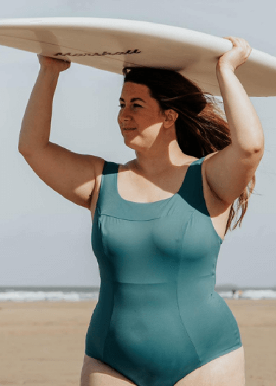 Best Active Sustainable Swimsuits Deakin and Blue Hendricks Teal One Piece