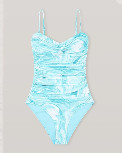 Stylish One Piece Swimsuits Ganni Swimwear Responsible