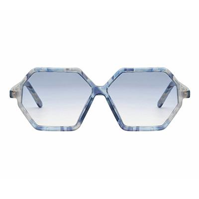 Cibelle Eyewear Blue Colourful Sunglasses For Summer