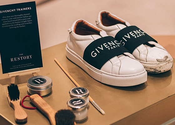 10 Questions for Thaís Cipolletta Co Founder of The Restory Before and After Givenchy Trainers