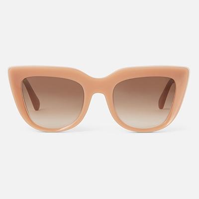 Stella McCartney Cat Eye Peach Colourful Sunglasses For Summer