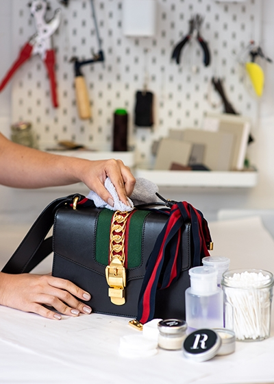 10 Questions for Thaís Cipolletta Co Founder of The Restory Cleaning Gucci Bag