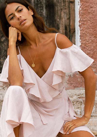 10 Questions for Aequem Oramai Linen dress