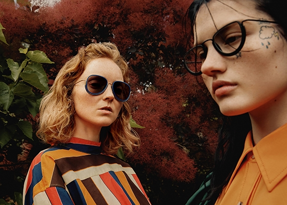 10 Questions for KHOEO Co Founder Skye Harrison Wires sunglasses Lily Cole