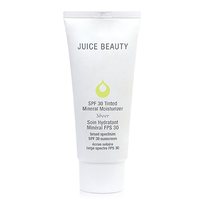 Clean Sunscreen For Your Skin Type Juice Beauty Tinted Mineral Moisturiser Normal Skin