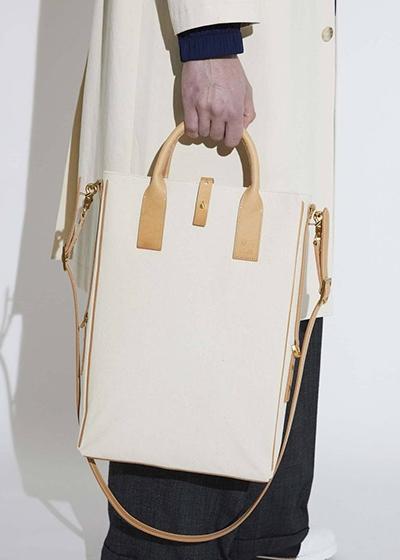 Gender Neutral Fashion With Purpose MONO + n.a.v.y Bag